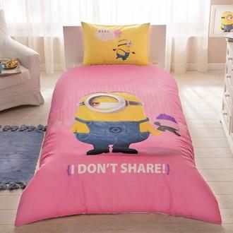 Комплект детского постельного белья TAC MINIONS CUPCAKE хлопковый ранфорс