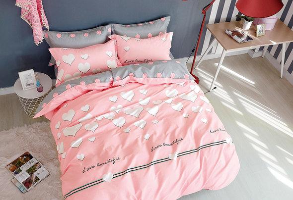 Комплект постельного белья Tango TPIG-646 хлопковый твил 2-х спальный (нав. 50*70), фото, фотография