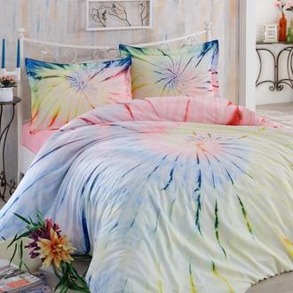 Комплект постельного белья Hobby Home Collection BATIK HELEZON хлопковый сатин (розовый)