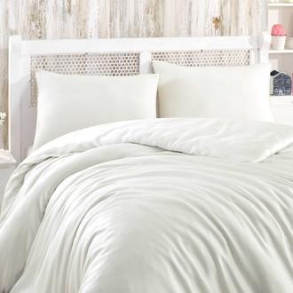 Комплект постельного белья Hobby Home Collection SHINE бамбуковый сатин (кремовый)