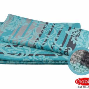 Полотенце для ванной Hobby Home Collection AVANGARD хлопковая махра бирюзовый 70х140