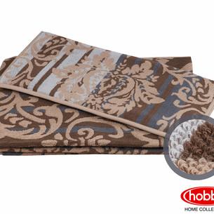 Полотенце для ванной Hobby Home Collection AVANGARD хлопковая махра коричневый 70х140