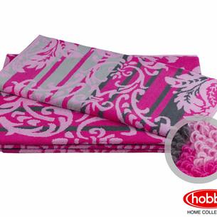 Полотенце для ванной Hobby Home Collection AVANGARD хлопковая махра розовый 70х140