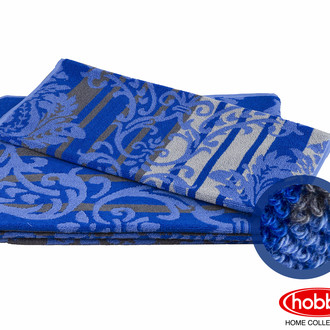 Полотенце для ванной Hobby Home Collection AVANGARD хлопковая махра (синий)
