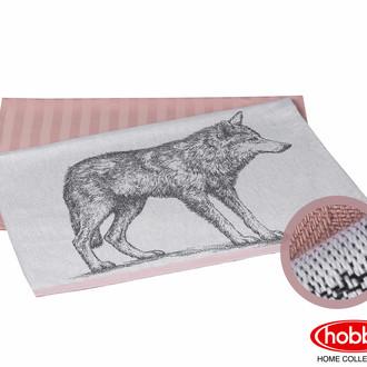 Набор кухонных полотенец Hobby Home Collection WOLF хлопок (лиловый)