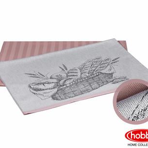 Набор кухонных полотенец Hobby Home Collection PRINT хлопок bread, лиловый 50х70 2 шт.
