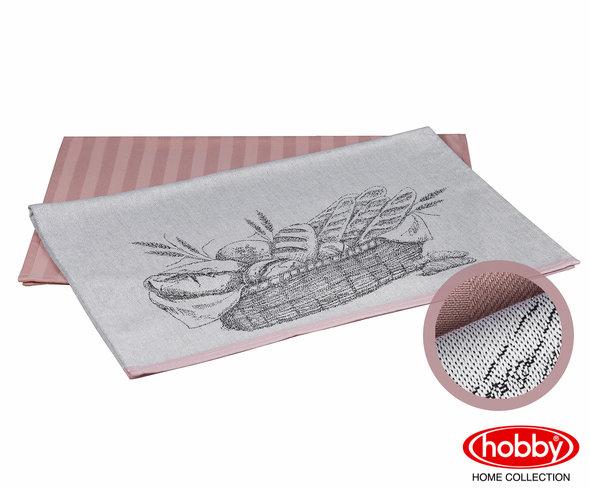 Набор кухонных полотенец Hobby Home Collection PRINT хлопок (bread, лиловый) 50*70(2), фото, фотография