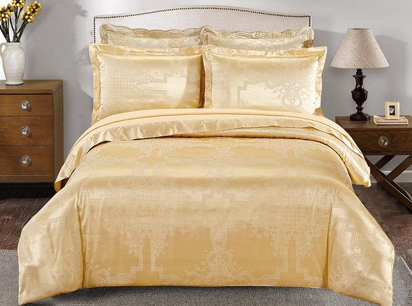 Комплект постельного белья Cristelle LOUVRE CJ03-8 жаккард евро, фото, фотография