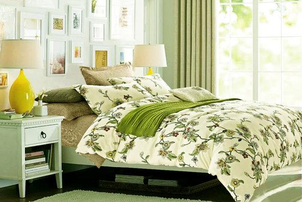 Комплект постельного белья Tango TPIG-709 хлопковый твил 2-х спальный (нав. 50*70), фото, фотография