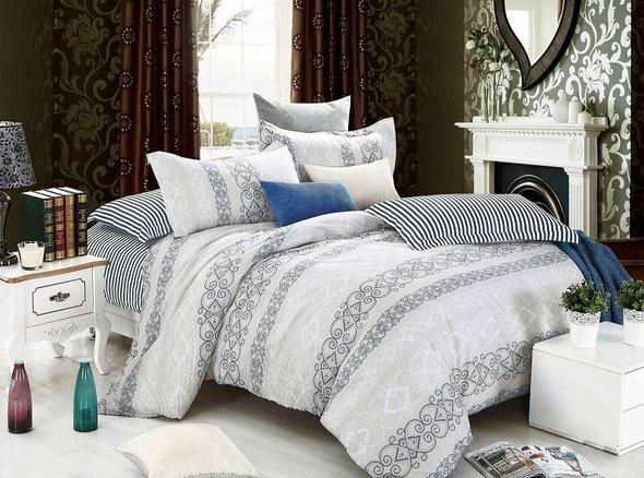 Комплект постельного белья Tango TPIG-981 хлопковый твил 1,5 спальный, фото, фотография