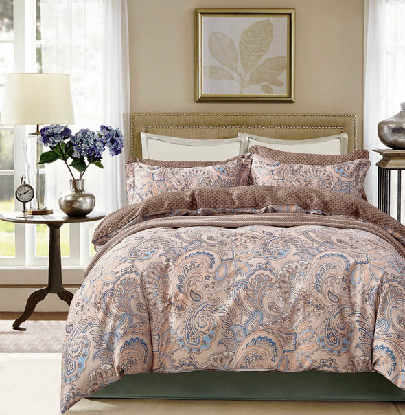 Комплект постельного белья Tango TPIG-605 хлопковый твил 2-х спальный (нав. 70*70), фото, фотография