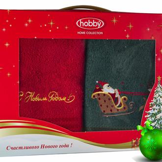 Набор полотенце Hobby Home Collection НОВЫЙ ГОД хлопковая махра (V11)