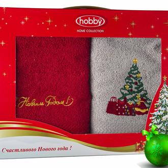 Набор полотенце Hobby Home Collection НОВЫЙ ГОД хлопковая махра (V13)