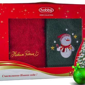 Набор полотенце Hobby Home Collection НОВЫЙ ГОД хлопковая махра (V16)