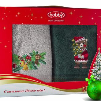 Набор полотенце Hobby Home Collection НОВЫЙ ГОД хлопковая махра (V6)