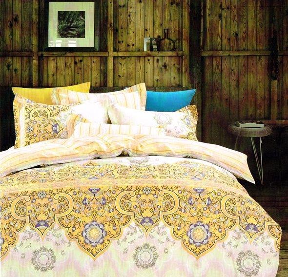 Комплект постельного белья Tango TPIG-738 хлопковый сатин семейный, фото, фотография