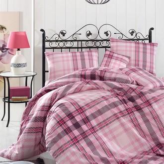 Комплект постельного белья Altinbasak ALIZ ранфорс хлопок (розовый)