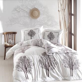 Комплект постельного белья Altinbasak TREE хлопковый ранфорс (коричневый)