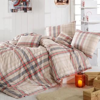 Комплект постельного белья Altinbasak ALIZ ранфорс хлопок (коричневый)