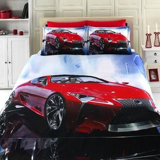 Комплект постельного белья Virginia Secret BAMBOO 3D DIGITAL 47 бамбуковый сатин