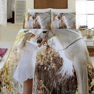 Комплект постельного белья Virginia Secret BAMBOO 3D DIGITAL 54 бамбуковый сатин