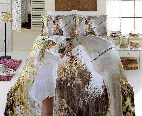 Комплект постельного белья Virginia Secret BAMBOO 3D DIGITAL 54 бамбуковый сатин евро, фото, фотография