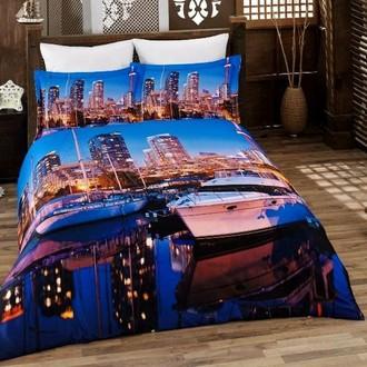 Комплект постельного белья Virginia Secret BAMBOO 3D DIGITAL 38 бамбуковый сатин