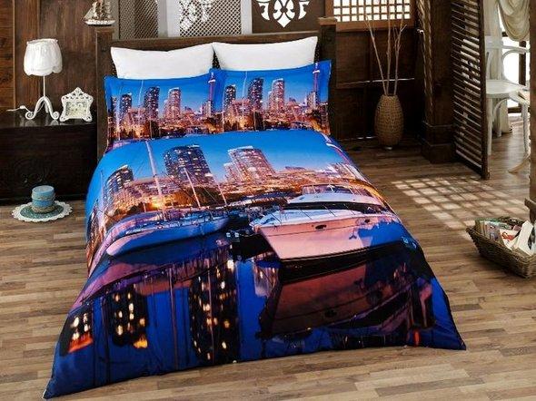 Комплект постельного белья Virginia Secret BAMBOO 3D DIGITAL 38 бамбуковый сатин евро, фото, фотография