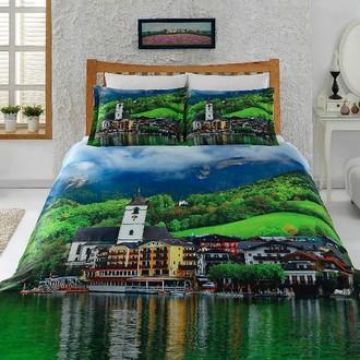 Комплект постельного белья Virginia Secret BAMBOO 3D DIGITAL 46 бамбуковый сатин