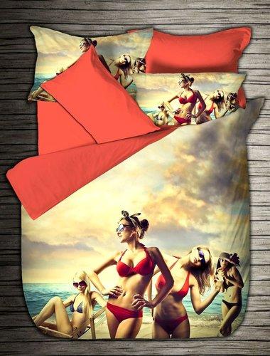 Постельное белье Virginia Secret BAMBOO 3D DIGITAL 08 бамбуковый сатин евро, фото, фотография
