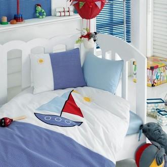 Комплект детского постельного белья в кроватку Cotton Box 1007-03 хлопковый ранфорс