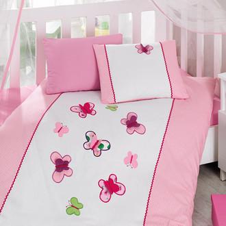Комплект детского постельного белья в кроватку Cotton Box 1007-06 хлопковый ранфорс