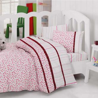 Комплект детского постельного белья в кроватку Cotton Box 1041-06 хлопковый ранфорс