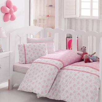 Комплект детского постельного белья в кроватку Cotton Box 1041-05 хлопковый ранфорс