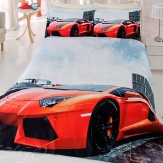 Комплект постельного белья Virginia Secret RANFORCE 3D DIGITAL 08 хлопковый ранфорс