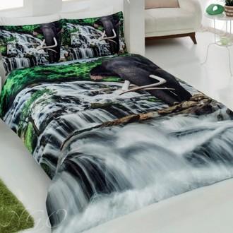 Комплект постельного белья Virginia Secret RANFORCE 3D DIGITAL 07 хлопковый ранфорс