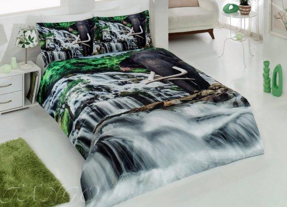 Комплект постельного белья Virginia Secret RANFORCE 3D DIGITAL 07 хлопковый ранфорс евро, фото, фотография