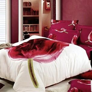 Постельное белье Tango TS-145 хлопковый сатин 1,5 спальный нав. 50х70 см