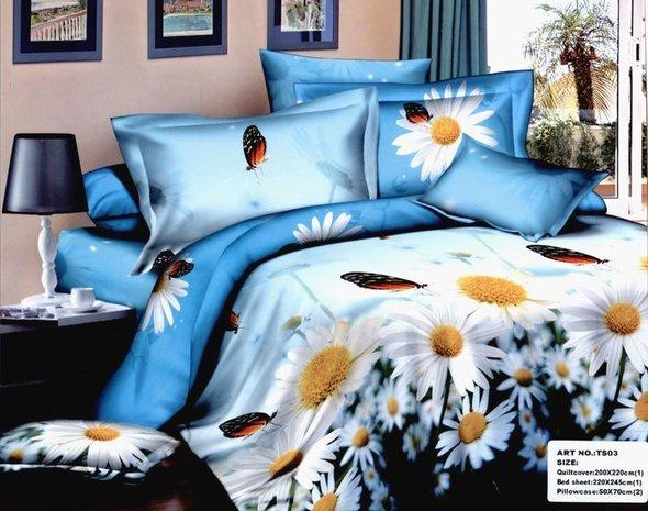 Комплект постельного белья Tango TS-804 хлопковый сатин семейный, фото, фотография
