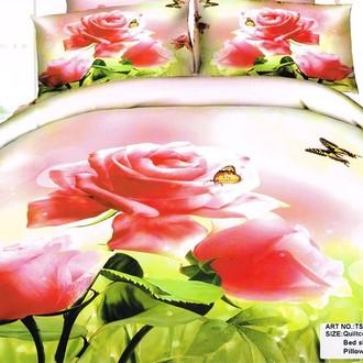 Комплект постельного белья Tango TS-59A хлопковый сатин
