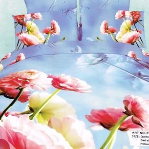 Постельное белье Tango TS-16A хлопковый сатин 1,5 спальный нав. 70х70 см