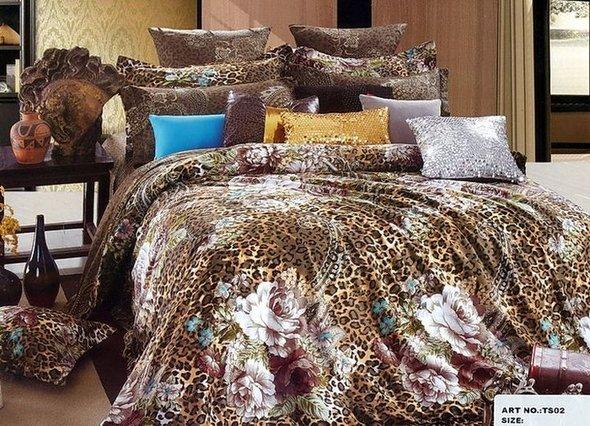 Комплект постельного белья Tango TS-089 хлопковый сатин 2-х спальный (нав. 70*70 см), фото, фотография