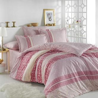 Комплект постельного белья Hobby Home Collection EMMA хлопковый поплин (розовый)