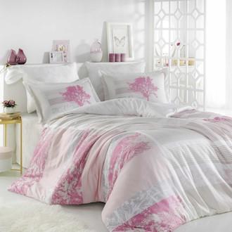 Комплект постельного белья Hobby Home Collection ELSA хлопковый поплин (розовый)