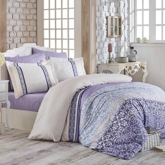 Комплект постельного белья Hobby Home Collection LAURA хлопковый поплин (лиловый)