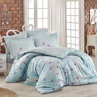 Комплект постельного белья Hobby Home Collection MARIA хлопковый поплин (минт)