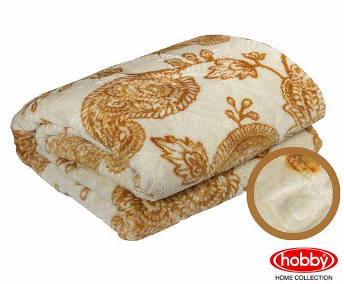 Покрывало Hobby Home Collection ANTONIA велсофт золотой 220х240, фото, фотография