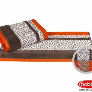 Полотенце для ванной Hobby Home Collection NAZENDE хлопковая махра оранжевый 50х90