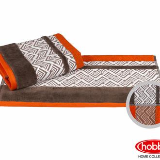 Полотенце для ванной Hobby Home Collection NAZENDE хлопковая махра оранжевый