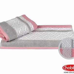 Полотенце для ванной Hobby Home Collection NAZENDE хлопковая махра розовый 70х140